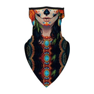 Outdoor Face Cover Fashion Printed Bib Scarves Multi Functional Seamless Quick Dry Hairband Head Scarf Bandana