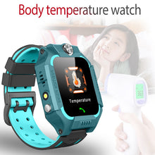 Load image into Gallery viewer, Temperature measurement Smart watch LBS Kid SmartWatches Baby Watch for Children SOS Call Location Finder Locator Tracker+Box
