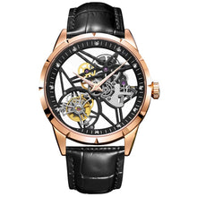 Load image into Gallery viewer, Original Tourbillon Mechanical Men's  Watches Skeleton Luxury Brand Sport Men Clock Fashion Waterproof Men Watch Zegarek Meski
