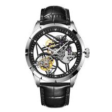 Load image into Gallery viewer, Guanqin Tourbillon Men Watches luxury mechanical Watch Real Brand 100% Waterproof  Tourbillon clock men Relogio Masculino