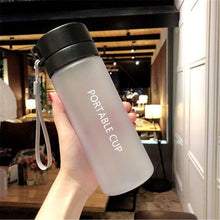 Load image into Gallery viewer, 800ml/600ml Large Capacity Sports Fruit Lemon Juice Drinking Bottle Infuser Clear Portable Plastic Water Bottle