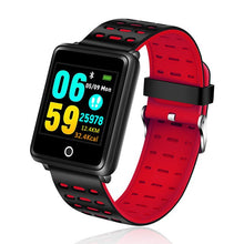 Load image into Gallery viewer, LIGE 2019 New Men Women Smart Sport Watch Fitness Tracker Pedometer Blood Pressure Heart Rate Blood oxy Monitor Smart Band+Box