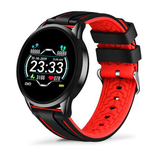 LIGE 2020 New Smart Watch Blood Pressure Oxygen Fitness Bracelet Watch Heart Rate Monitor IP67 Men Women Sport Smartwatch+Box