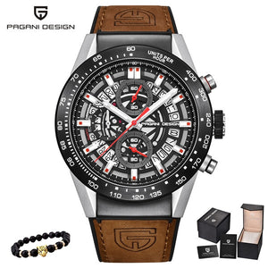 PAGANI DESIGN 2020 mens watches Top Brand Luxury Waterproof Quartz Watch men Sport Military Men's Wrist Watch Relogio Masculino
