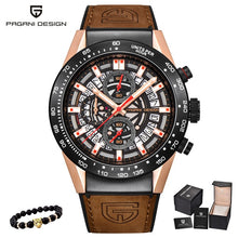 Load image into Gallery viewer, PAGANI DESIGN 2020 mens watches Top Brand Luxury Waterproof Quartz Watch men Sport Military Men's Wrist Watch Relogio Masculino