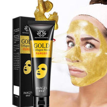 Load image into Gallery viewer, Gold Collagen Peel Off Mask Face Tear Off Bamboo Charcoal Blackhead Remover Whitening Firming Anti Wrinkle Facel Mask Care