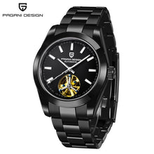 Load image into Gallery viewer, PAGANI DESIGN Top Brand Business Waterproof Mechanical Watch Stainless Steel Men Watch Sapphire Glass Tourbillon Automatic Watch