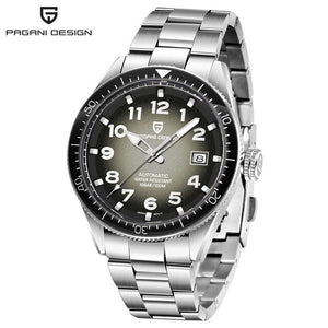 2020 NEW PDGANI DESIGN Fashion Men Watch 100M  Waterproof Stainless Steel automatic Mechanical Watch Sport Casual Watches