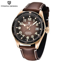Load image into Gallery viewer, 2020 NEW PDGANI DESIGN Fashion Men Watch 100M  Waterproof Stainless Steel automatic Mechanical Watch Sport Casual Watches
