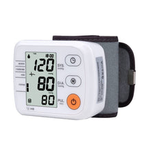 Load image into Gallery viewer, Wrist Blood Pressure Monitor Automatic Digital Tonometer Meter for Measuring Blood Pressure And Pulse Rate Sphygmomanometers