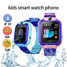 Load image into Gallery viewer, Children's Smart Watch Kids Phone Watch Smartwatch For Boys Girls  With Sim Card Photo Waterproof IP67 Gift For IOS Android