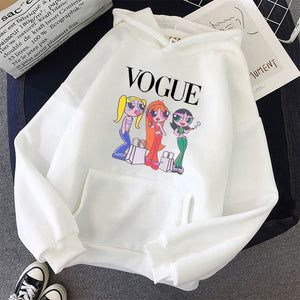 oversized Sweatshirt spring Streetwear Printing Hoodies Pullovers 2020 Fashion Harajuku Winter Hoodie Women Loose Korean Style