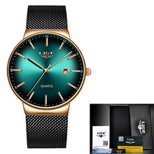 Load image into Gallery viewer, 2020 Classic Women Rose Gold Top Brand Luxury Laides Dress Business Fashion Casual Waterproof Watches Quartz Calendar Wristwatch