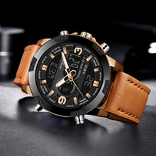 Load image into Gallery viewer, 2020 LIGE Mens Watches Top Luxury Brand Quartz Clock Watch Men LED Digital Waterproof Military Date Wristwatch Relogio Masculino
