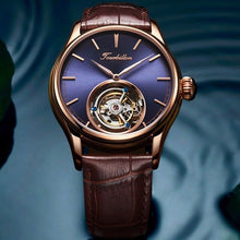Load image into Gallery viewer, Tourbillon Watch GUANQIN Original watch Skeleton mechanical Sapphire Mens Watches Top Brand Luxury clock men Relogio Masculino