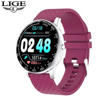 Load image into Gallery viewer, LIGE 2020 New Full Touch Smart Watch Women men Waterproof Sport for Android/iPhone Call information smartwatch for woman mens