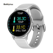 Load image into Gallery viewer, K21 Thermometer Smart Watch Body Temperature Monitor Men Women Fitness Tracker Band Blood Pressure Monitor Bluetooth Smartwatch