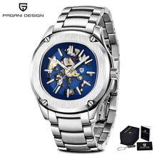 Load image into Gallery viewer, 2020 New PAGANI DESIGN Mechanical Watch Men Waterproof Automatic Men Wristwatch Hollow Casual Watch Top Luxury Brand Sport Clock