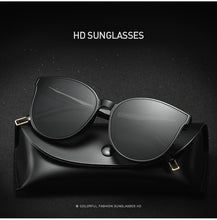 Load image into Gallery viewer, 2020 Fashion Luxury Cat Eye Frame Sunglasses Women Men Driving Vintage Round Oversized Sun Glasses Brand Designer UV400