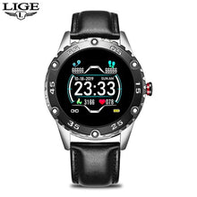 Load image into Gallery viewer, LIGE Men Smart Watch Heart Rate Monitoring Smartwatch Waterproof Fitness Tracker Pedometer Sport Smart Watch Men for Android ios