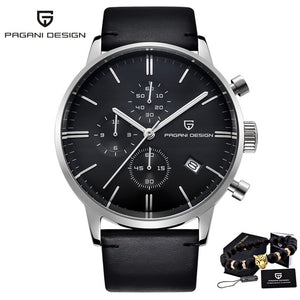 PAGANI DESIGN 2720 Men's Watches Quartz Business watch Auto Date Mens Watches Japan Movt Watch Men Chronograph Relogio Masculino