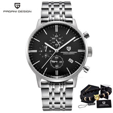 Load image into Gallery viewer, PAGANI DESIGN 2720 Men's Watches Quartz Business watch Auto Date Mens Watches Japan Movt Watch Men Chronograph Relogio Masculino