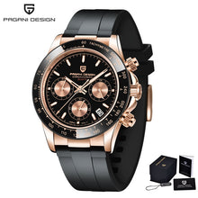 Load image into Gallery viewer, 2020 New PAGANI DESIGN Mens Quartz Watches Automatic Date Luxury Gold Wristwatch Men Waterproof Chronograph Japan VK63 Clock man