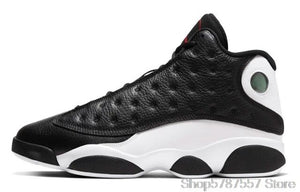 Jordan Basketball Shoes Original Nike Air Jordan 13 Retro Atmosphere Grey Mens Shoes High-top Sneakers Women Sports Shoes Boots