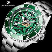Load image into Gallery viewer, PAGANI DESIGN Top Brand Men Mechanical Watch Waterproof Stainless Steel Automatic Watch Sapphire Glass Watch Men Reloj Hombre