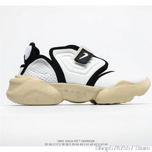 "Load image into Gallery viewer, original Nike Aqua Rift ""Summit White"" Nike split toe shoes second generation old shoes women's sports shoes size 36-39"