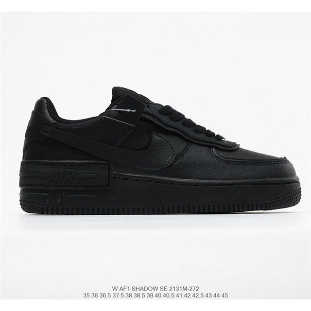 NIKE WMNS Air Force 1 Shadow Air Force One Lightweight Wild Board Shoes Women's Size 36-39