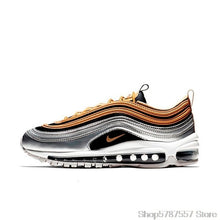 Load image into Gallery viewer, Original Authentic Nike Air Max 97 OG QS Silver Bullet Men's Sneakers Breatheable Running Shoes 312834-401
