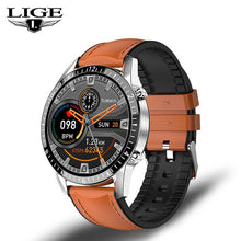 Load image into Gallery viewer, LIGE Bluetooth Phone Smart Watch Men Waterproof Sports Fitness Watch Health Tracker Weather Display 2020 New smartwatch Woman