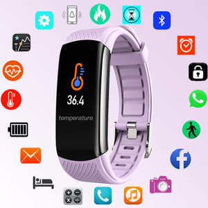 NEW Kids Smart Watch Children Body Temperature Measure Smartwatch Baby Wristband Girls Boys Bluetooth Android IOS Fitness Clock