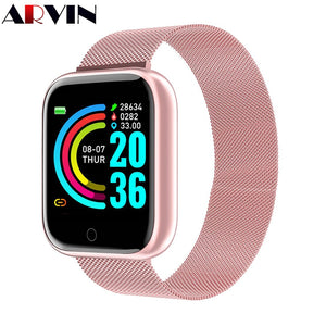 Arvin Smart Watch 2020 Heart Rate Fitness tracker Sport Smartwatch Men Women