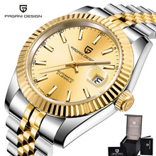 Load image into Gallery viewer, Pagani Design Sapphire Automatic Mechanical Watch Men Stainless Steel Business Male Clock 100m Waterproof Fashion Mens Watches