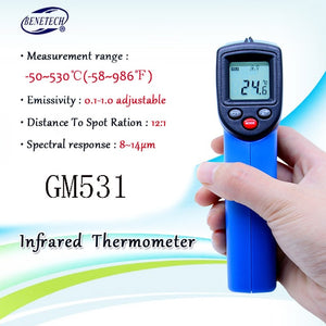 Infrared Thermometer (Not for Human) Temperature Gun Non-Contact Digital  Pyrometer Laser Thermometer-58℉ to 716℉ (-50 to 380℃)
