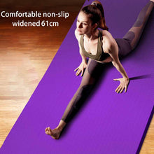 Load image into Gallery viewer, 183*61*1.5cm Yoga Mats With Body Line Thick Hot Yoga Pilates Gymnastics Mats Balance Pad Fitness Non-Slip Folding Exercise Mat