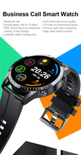 Load image into Gallery viewer, LIGE New Bluetooth Phone Smart Watch Men Waterproof Sport Multifunction Fitness Watch Health Tracker Weather Display smartwatch