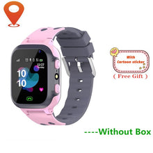 Load image into Gallery viewer, Children's Smart Watch SOS Phone Watch Smartwatch For Kids With Sim Card Photo Waterproof IP67 Kids Gift For IOS Android vs Q12