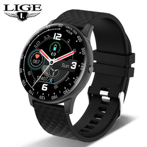 LIGE 2020 New Smart Watch Men Women Watch Heart Rate Monitor Music Control For Android/iPhone IP68 Waterproof Sport Smartwatch