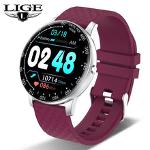 Load image into Gallery viewer, LIGE 2020 New Smart Watch Men Women Watch Heart Rate Monitor Music Control For Android/iPhone IP68 Waterproof Sport Smartwatch