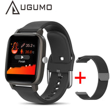 Load image into Gallery viewer, UGUMO T98 Smart Watch Body Temperature Measure Heart Rate monitor Blood Pressure Fitness Tracker Sport smartwatch for Women Men