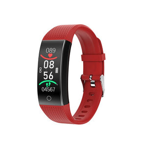 LIGE New Men and Women Smart Watch IP68 Blood Pressure and Heart Rate Body Temperature Measurement Waterproof Sports Smartwatch
