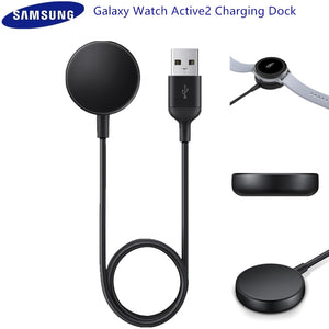 Original Samsung Galaxy Watch Active2 Charging Dock Wireless Charger Pad For Samsung Galaxy Smart Watch/Active/Active 2 EP-OR825