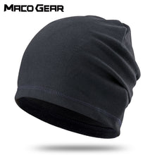 Load image into Gallery viewer, Winter Thin Hat Thermal Warm Cap Running Sports Soft Stretch Hats Fishing Snowboard Hiking Cycling Skiing Comfortable Men Women