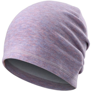 Winter Thin Hat Thermal Warm Cap Running Sports Soft Stretch Hats Fishing Snowboard Hiking Cycling Skiing Comfortable Men Women