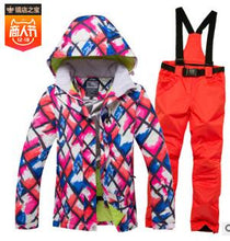 Load image into Gallery viewer, New Hot Ski Suit Men Winter New Outdoor Windproof Waterproof Thermal Male Snow Pants sets Skiing And Snowboarding Ski Jacket Men