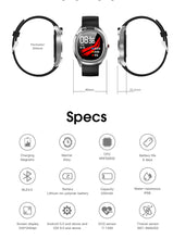 Load image into Gallery viewer, 696 Waterproof T01 Smart Watch Men Women Fitness Wristband Heart Rate  Monitor Smartwatch Weather Body Temperature Measurement