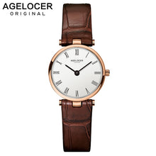 Load image into Gallery viewer, AGELOCER Swiss Brand Women Watches Ladies 2019 Luxury Famous Female Clock Quartz Watch Wrist Relogio Feminino Montre Femme